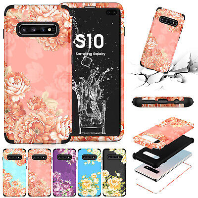 Shockproof Hybrid Hard Shell Protective Case Cover for Samsung Galaxy S9 S10+