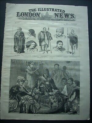 Antique prints - ABYSSINIA 1884 - Scketches in Abyssinia - by W.Simpson