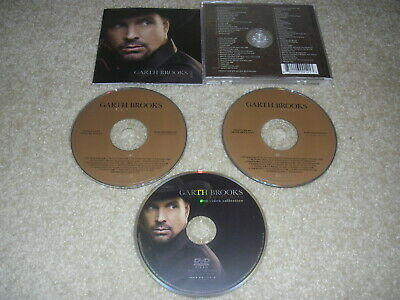 The Ultimate Hits by Garth Brooks (CD, Nov-2007, 3 Disc set) 2 CD + DVD!