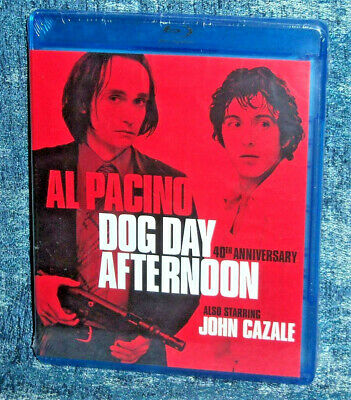 Brand New Al Pacino Dog Day Afternoon 40Th Anniversary 2 Disc Movie Blu Ray 1975