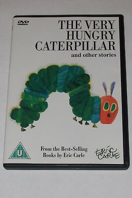 THE VERY HUNGARY CATERPILLAR  &  OTHER STORIES    CHILDREN'S DVD  by ERIC CARLE