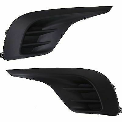 New Fog Light Covers Set of 2 Driver & Passenger Side TO1039153 TO1038153 Pair