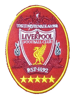 Liverpool LFC KOP Soccer Football Iron Sew On Jersey Patch Badge Embroidered