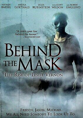 Used Dvd - Behind The Mask - The Rise Of Leslie Vernon - Robert Englund