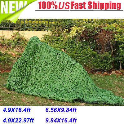Camouflage Netting Camo Net Woodland Blinds for Military Sunshade Camping