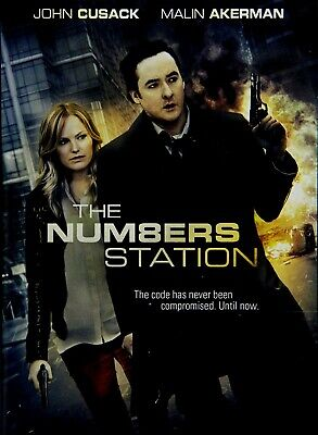 Used Dvd - The Numbers Station - John Cusack , Malin Akerman , Liam Cunningham