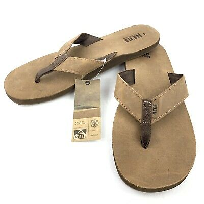 Reef Men/'s leather Sandals Smoothy Bronze//Brown Classic RF000232 100/%Authentic
