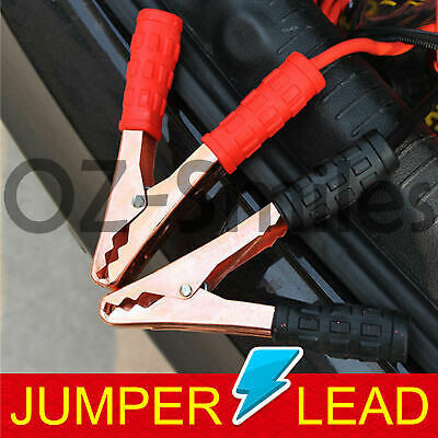 Jumper Leads M Long Heavy Duty Car Jump Booster Cables 1200AMP