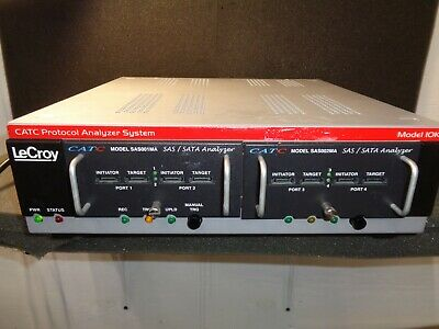 LeCroy CATC Protocol Analyzer Model 10K W/ SAS001MA SAS And model SAS002MA