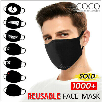 Unisex Warm Windproof Mouth Anti-Dust Face Mask Cotton Face Facial Mouth Mask AU