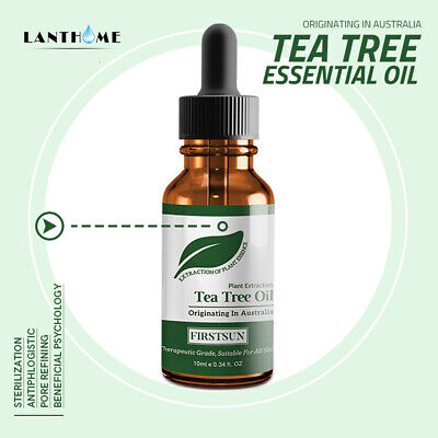 Natural Tea Tree Essential Oil Anti-wrinkle Extract Acne Removal Scars Skin Care