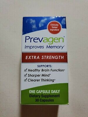 Prevagen Extra Strength 30 Capsules Improves Memory New Sealed Box or Plastic