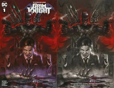 The Grim Knight #1 Lucio Parrillo Trade Dress/Minimal Trade Variant Set Ltd 1000