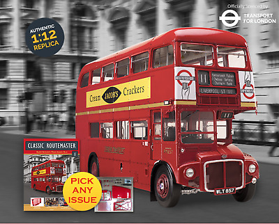 Build Your Own London Bus | Pick Any Issue  | Classic Routemaster | Hachette