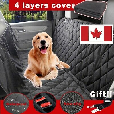 New Dog Car Seat Covers Waterproof, Pet Seat Cover for Back Seat Scratch Proof