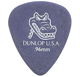 JIM DUNLOP  Guitar Pick   GATOR GRIP STANDARD 0.96mm