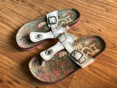 Girls next white sandals, size 3, Immaculate Condition