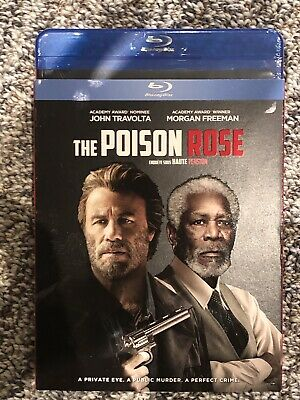 NEW The Poison Rose Blu-Ray w Slipcover Canada Bilingual SEALED