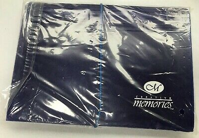 Blue Creative Memories Photo File ~ 7 Compartments ~ New In Wrapper