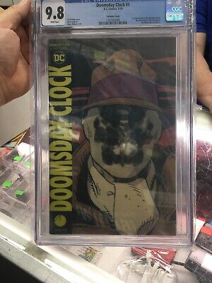 DOOMSDAY CLOCK #1  LENTICULAR VARIANT 1st PRINT CGC 9.8  HBO SERIES This Summer