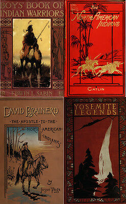 250 Old Books On Native American Indians, History, Culture, Chiefs, Wars On Dvd