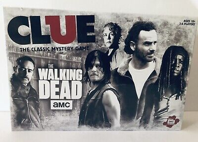 NEW IN BOX SEALED: USAopoly Clue: The Walking Dead AMC Board Game