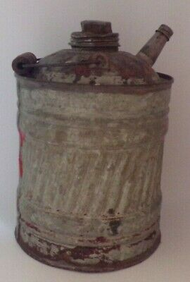 Vintage Oil Can with spout built in