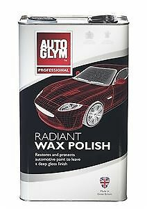 Autoglym Radiant Super Resin Wax Polish 5 LITRE 5L