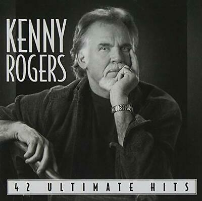 Kenny Rogers Cd - 42 Ultimate Hits [2 Discs](2004) - New Unopened - Country