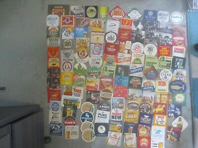 112 different  Australian Breweries  Issued, BEER & CIDER COASTERS  collectable