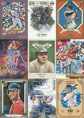 2019 Diamond Kings You Pick- SP, Framed, Inserts Free Shipping