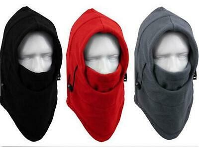 Balaclava Thermal Polar Poly Fleece Winter Hat Hood Cap Face Mask Skiing Beanie