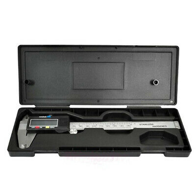 "6"" 150mm Stainless Steel Electronic Digital LCD Vernier Caliper Micrometer Guage"