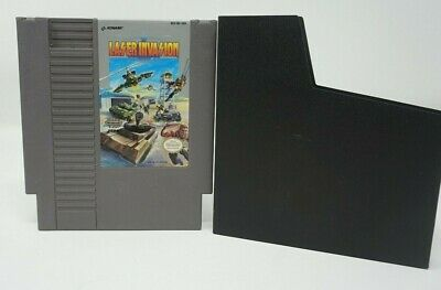 Laser Invasion (Nintendo Entertainment System NES) Cart Only