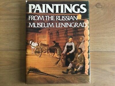 Art Artist Collectors Rare Book Paintings Russian Museum Leningrad Moscow1981