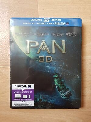 Pan SteelBook Ultimate Édition - Blu-ray 3D + Blu-ray + DVD + Copie digital.neuf