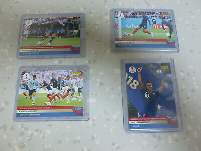 lot Panini Adrenalyn World Cup 2018 INSTANT  Mbappe rookie  51, 266, 282, 298,