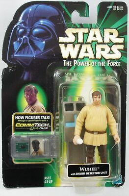 Star Wars (The Power of the Force) - Hasbro - Wuher with Droid Detector Unit