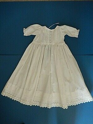 "Christening Gown Robe. Perfect. 26"" tall."