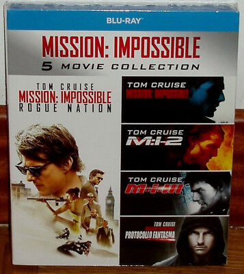 Mission Impossible Collection 5 Blu-Ray New Sealed Action Spanish (Unopened)