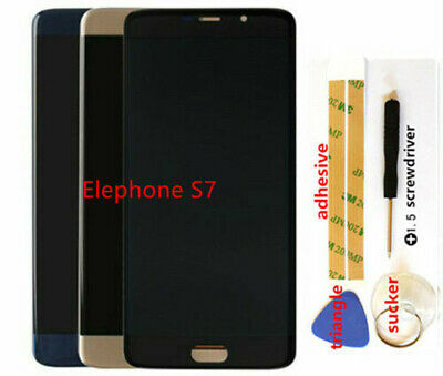 LCD Display Touch Screen Assembly For Elephone S7 Digitize Replacement S7