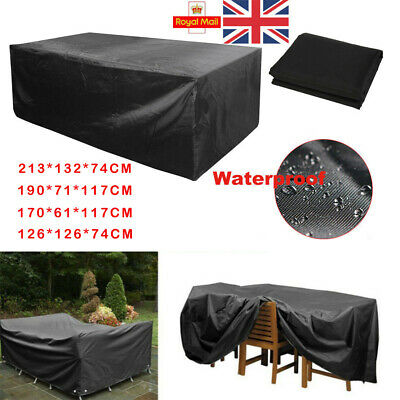 Waterproof Garden Bbq Patio Furniture Set Cover Covers Rattan Table Cube Outdoor