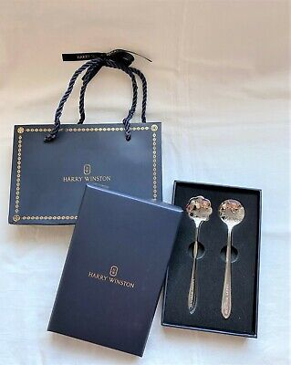 Harry Winston spoon set for gates the avenue ocean diamond ring necklace watch