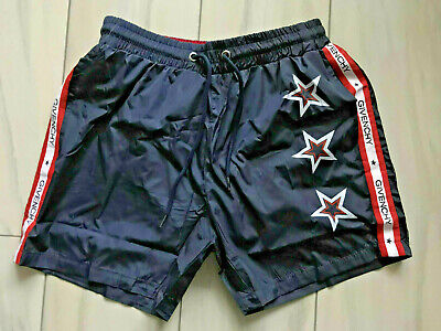 Brand New GIvenchy Paris Stars Logo Print Men's Beach Swim short Trunk Swimwear
