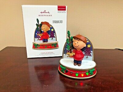 "2018 Hallmark Ornament Charlie Brown  ""A Charlie Brown Christmas"""
