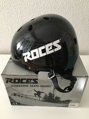 Casco de patinaje ROCES negro M