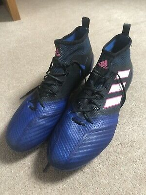 separation shoes d05b6 2cf9f ADIDAS ACE 17.1 Primeknit Firm Ground Football Boots - Black ...