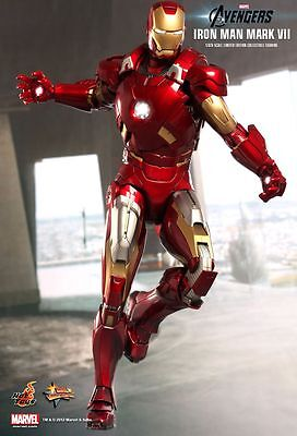 Hot Toys Iron Man Avengers Mark VII MK7 Sideshow Exclusive MMS185 NEW/Sealed!