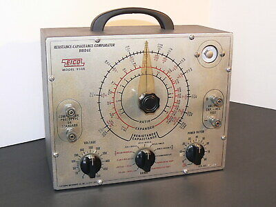 EICO Model 950B, Resistance-Capacitance-Comparator Bridge, Factory Made!