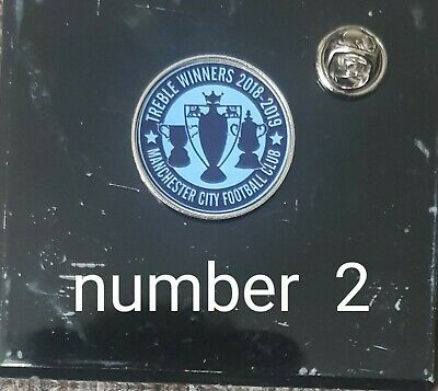 Manchester city pin badge 25mm  new designs  10%Macmillan Cancer Support
